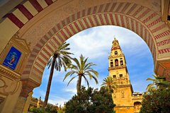 wallpapers background Cathedral Mosque Bell Tower Mezquita Cordoba
