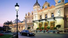 The Monte Carlo Casino Monte Carlo Monaco widescreen wallpapers