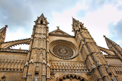 architecture cathedral city holiday holidays landmark mallorca