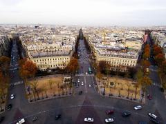 Place de Etoile Paris France desktop backgrounds