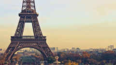 Eiffel Tower Paris Full HD Backgrounds Wallpapers