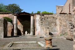 Ancient villa in Pompeii Italy wallpapers and image