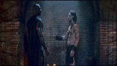 New screencaps from the epic Pompeii with Kit Harington