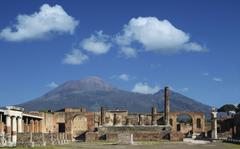 Blue Skies Of Pompeii Wallpapers Elegant Pompeii Excavations