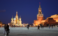 Wallpapers Russia Moscow Kremlin Red Square people movement