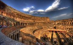 Roma Colosseum in Architecture