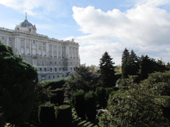 Madrid Research Photo Diary Royal Palace and Oriental Gardens