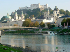The Salzburg Festival attracts many visitors and there is a smaller