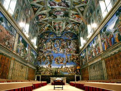 HD sistine chapel wallpapers