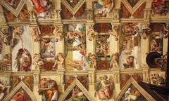 Michelangelo vs Leonardo da Vinci image Michelangelo painted the