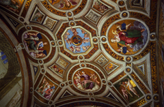 Ceiling of the Sistine Chapel Travel Wallpapers and Stock Photo