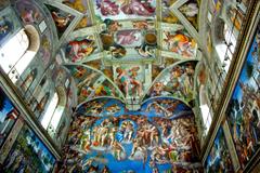 sistine chapel in vatican city hd photo 11