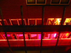 Red lights in the Red Light District