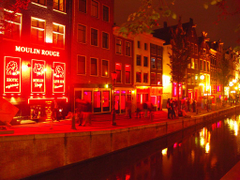 Red Light District Where life begins in the night