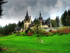 Peles Castle Romania widescreen wallpapers