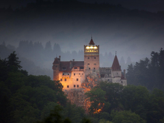 Draculas Castle Bran Transylvania Romania Wallpapers Wallpapers