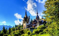 Peles Castle Sinaia Romania widescreen wallpapers