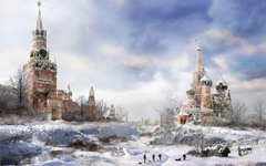 Apocalypse Moscow Russia Two wallpapers