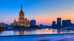 Downtown Moscow Russia Wallpapers 5