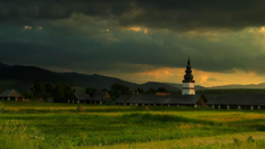 Rural Hypnotic Town Slovakia