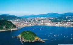View of San Sebastián Spain 4K HD Desktop Wallpapers for 4K Ultra