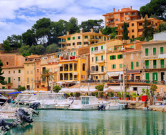 Wallpapers Majorca Mallorca Spain Puerto Soller Pier Yacht Cities