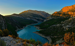 Congost River Mountain Range Spain wallpapers