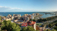 Wallpapers Spain Malaga Andalusia Roads Berth Coast Cities Houses