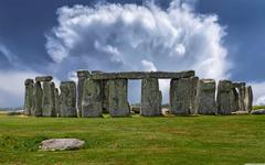 Stonehenge Historical landmark in England 4K HD Desktop Wallpapers