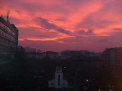 Sunsets Bulgaria Clouds Sunset Nature Sofia Pink Sky Photography
