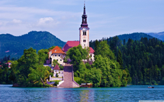 Lake Bled Slovenia HD desktop wallpapers High Definition