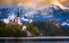 Lake Bled Slovenia Wallpapers HD For Desktop Mobile