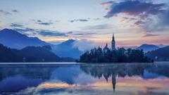 wallpapers Lake Bled Slovenia Lake Bled Slovenia