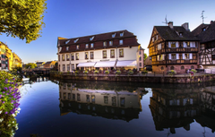 Wallpapers reflection France home channel Strasbourg France