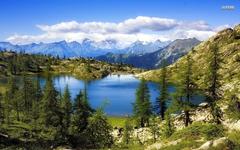 Lago Bianco Switzerland wallpapers