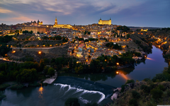Historic City of Toledo Spain 4K HD Desktop Wallpapers for 4K