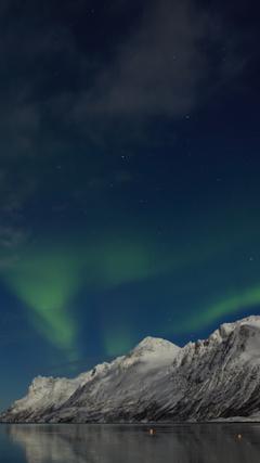 Erstfjordbotn Near Tromso iPhone Wallpapers