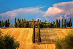 Toskana Summer Villa House tuscany wallpapers