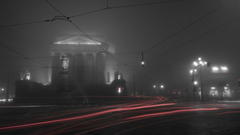 Foggy city of Turin Italy wallpapers and image