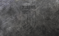 wallpapers Juventus new logo metal texture new emblem