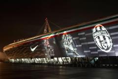 Juventus Stadium in Torino Piemonte