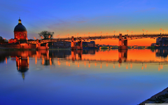 Toulouse Sunset 4K HD Desktop Wallpapers for 4K Ultra HD TV Wide