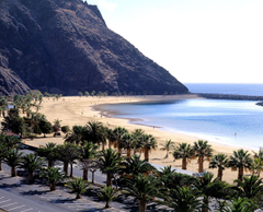 White Beach in Tenerife wallpapers and image