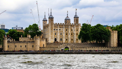 Visiting Place Tower of London Castle in London