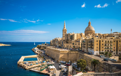 wallpapers Valletta capital of Malta Grand Harbour old