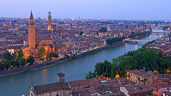 Verona Italy Adige river Android wallpapers for