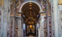 vatican city st peter s basilica the altar nave religion HD wallpapers