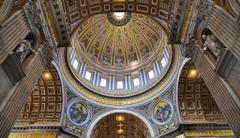 vatican city st peter s basilica dome murals religion HD wallpapers