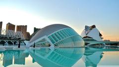 Valencia City Of Art Science HD desktop wallpapers Widescreen