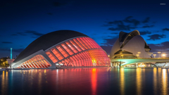 City of Art and Sciences in Valencia wallpapers